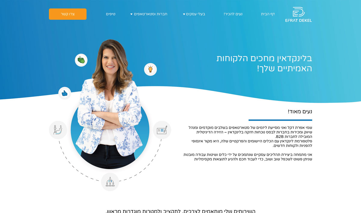 efrat dekel website